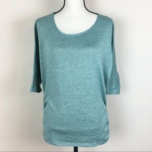 Tempted Pullover Sweater Short Sleeve Top